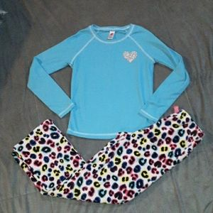 3/$18 Total Girl girls 10/12 pjs set, 2 pc